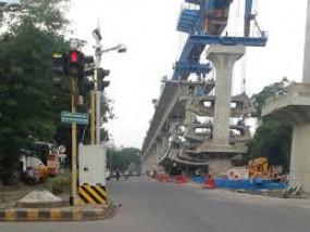 नागपुर में मेट्रो के रीच-4 का आखिरी सेगमेंट का काम पूरा