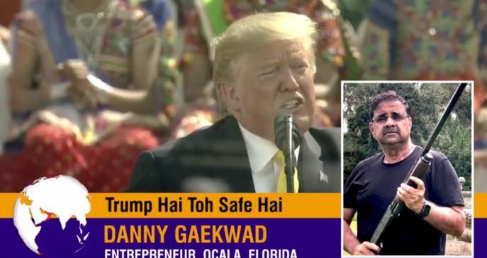 ट्रंप समर्थक भारतीय-अमेरिकी कैम्पेन वीडियो का सुरक्षा, अर्थव्यवस्था, भारत समर्थन पर जोर