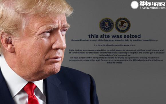 अमेरिका में राष्ट्रपति चुनाव से एक हफ्ते पहले ट्रंप की कैंपेन वेबसाइट हैक