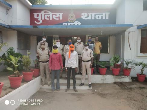 दो भाईयों ने मिलकर कर दी बुजुर्ग की हत्या - अरी के सुकला गांव की वारदात, आरोपी गिरफ्तार