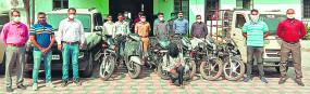 नागपुर से वाहन चोरी कर मध्यप्रदेश में बेचते थे, 2 गिरफ्तार