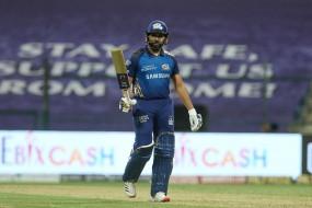 IPL-13: रोहित शर्मा ने कहा, टूर्नामेंट के पहले हाफ में हम जिस तरह से खेले उससे मैं काफी खुश हूं