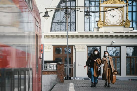 रूस में कोरोना के 21,608 नए मामले
