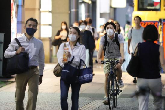जापान में कोरोना के 2,502 नए मामले आए