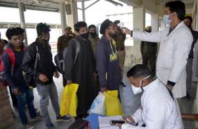 जम्मू-कश्मीर में कोरोना के 390 नए मामले, 482 मरीज उबरे