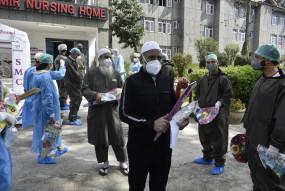 जम्मू-कश्मीर में कोरोना के 478 नए मामले, 578 लोग उबरे