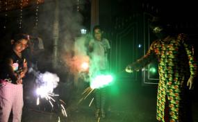 गुरुग्राम में दिवाली पर पटाखे जलाने पर 59 चालान कटे, 15 गिरफ्तार