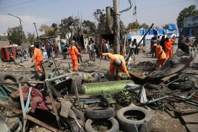काबुल में रॉकेट हमलों में 6 की मौत, 25 से अधिक घायल (लीड-2)