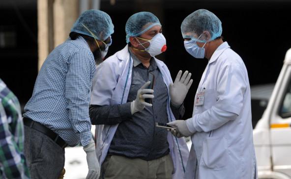 जम्मू-कश्मीर में कोरोना के 617 नए मामले,ो कुल संख्या 100,968 हुई