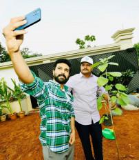 ग्रीन इंडिया चैलेंज में शामिल हुए अभिनेता राम चरण