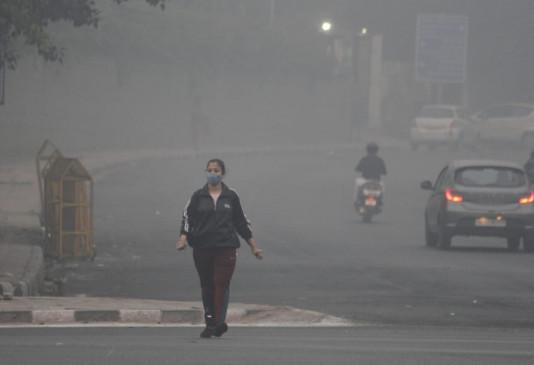 दिल्ली में बिगड़ी हवा की गुणवत्ता, रात तक होगी गंभीर