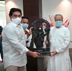 आंध्र के राज्यपाल ने दिवाली की शुभकामनाएं दी