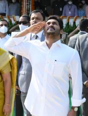 आंध्र प्रदेश ने मनाया स्थापना दिवस, मुख्यमंत्री ने फहराया तिरंगा