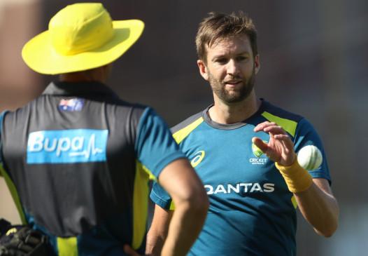 ऑस्ट्रेलियाई टीम में रिचर्डसन की जगह आए एंड्रयू टाई