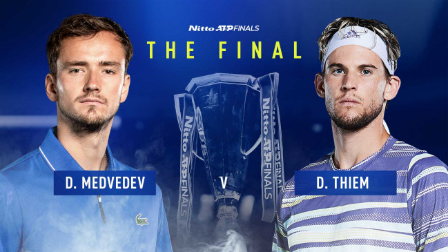 ATP Finals 2020: थीम ने जोकोविच और मेदवेदेव ने नडाल को मात देकर फाइनल में किया प्रवेश, दोनों के बीच आज खिताबी जंग