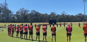 AUS VS IND: नस्लवाद के खिलाफ नंगे पैर घेरा बना विरोध दर्ज कराएगी आस्ट्रेलियाई टीम