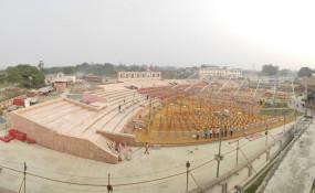अपने राम के स्वागत में दुल्हन जैसी सज रही अयोध्या