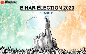Bihar Election 2020: दूसरे चरण में पटना सहित 17 जिलों की 94 विधानसभा सीटों पर आज सुबह 7 बजे से होगा मतदान, NDA की साख दांव पर