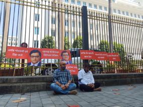 अर्नब के समर्थन में मंत्रालय के सामने धरना दे रहे भाजपा विधायक राम कदम हिरासत के बाद रिहा