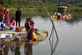 भाजपा ने सार्वजनिक जगहों पर छठ पूजा पर प्रतिबंध लगाने के झारखंड सरकार के निर्णय का विरोध किया