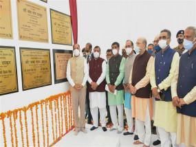 मुख्यमंत्री ने हरोली विधानसभा क्षेत्र के लिए 71.16 करोड़ रुपये की विभिन्न विकासात्मक परियोजनाओं के शिलान्यास व लोकार्पण किए