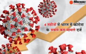Coronavirus in India: कोरोना वायरस के केस गिरावट दर्ज, 24 घंटे में मिले 30 हजार से कम मरीज