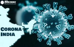 Coronavirus update India: भारत में फिर घटे कोरोना के मरीज, 24 घंटों में आए 38 हजार मामले