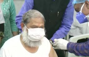 Covid-19 Vaccine: भारत बायोटेक की Covaxin के तीसरे चरण का ट्रायल शुरू, मंत्री अनिल विज ने पहला टीका लगवाया