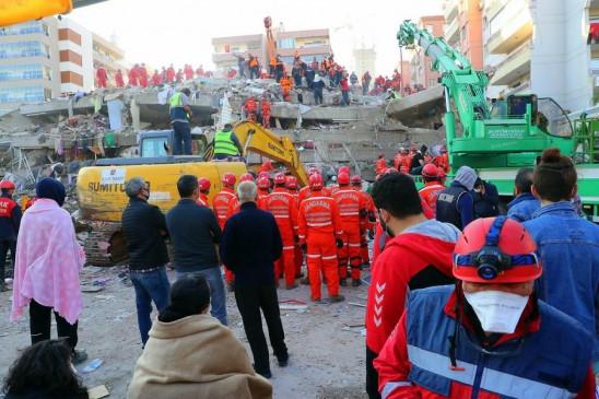 तुर्की में भूकंप से मरने वालों की संख्या 114 हुई