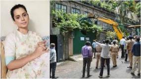 कंगना के ऑफिस में बीएमसी की कार्रवाई मामले में 27 नवंबर को फैसला