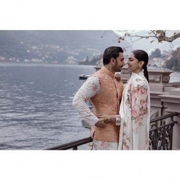 शादी की सालगिरह पर दीपिका, रणवीर ने एक-दूसरे को दी बधाई