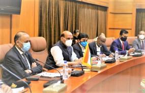 रक्षामंत्री राजनाथ का चीन को सीधा संदेश- सीमा पर चुनौतियों के बीच भारत अपनी अखंडता की रक्षा करेगा