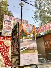 दिल्ली : गंभीर ने कृष्णा नगर मार्केट में तीसरे बड़े एयर प्यूरीफायर का उद्घाटन किया