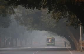 दिल्ली में 17 साल में नवंबर में रविवार को सबसे ठंड सुबह रही