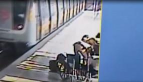 दिल्ली : सीआईएसएफ जवानों की सूझबूझ से मेट्रो यात्री की जान बची