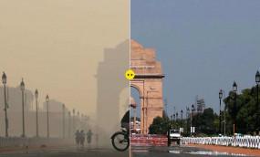 Air pollution: दिल्ली के लोगों को प्रदूषण से मिली थोड़ी राहत, AQI लेवल में सुधार