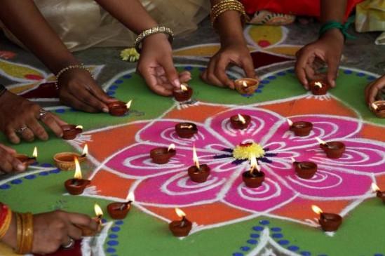 तमिलनाडु में पारंपरिक उत्साह के साथ मनाई जा रही दिवाली