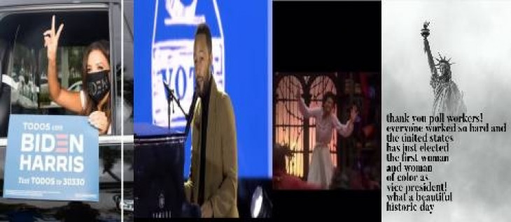 अश्वेत महिला कमला हैरिस के उपराष्ट्रपति बनने पर हॉलीवुड में उत्साह