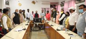 जिले में पोहा, मैदा व दलिया से संबंधित उद्योग स्थापित कराएं - समीक्षा बैठक में कलेक्टर ने कहा