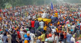 Press conference of farmers union: किसानों ने ठुकराया सरकार का प्रस्ताव, बोले- बुराड़ी नहीं जाएंगे, वो खुली जेल है