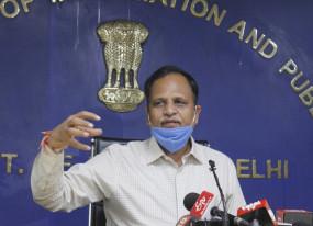 किसानों को जेल में नहीं डालना चाहिए, उन्हे दिल्ली आने दो : सत्येंद्र जैन