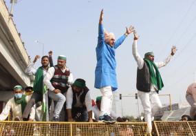 दिल्ली बॉर्डर पर ही डटे रहेंगे किसान : भाकियू