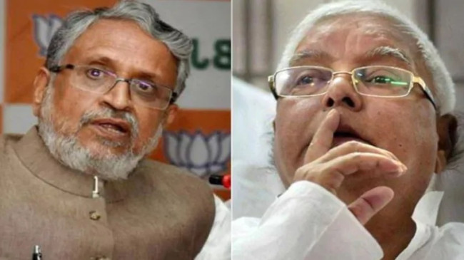 Bihar: सुशील मोदी ने कहा- NDA सरकार गिराने की साजिश कर रहे लालू प्रसाद यादव