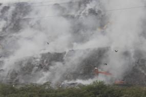 गाजीपुर लैंडफिल की आग से बढ़ा प्रदूषण, एमसीडी कमिश्नर तलब