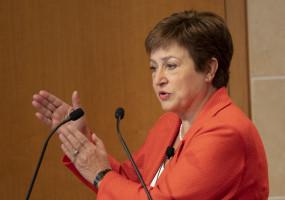 आईएमएफ प्रमुख ने जी20 देशों से नीति समर्थन जारी रखने का आह्वान किया