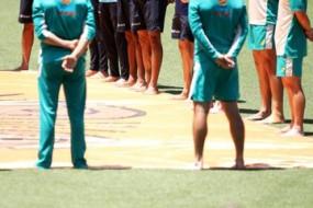 नस्लवाद के खिलाफ बेयरफुट सर्कल समारोह में शामिल हुए भारत, ऑस्ट्रेलियाई क्रिकेटर