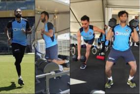 India Tour of Australia: भारतीय टीम ने जिम और रनिंग के साथ शुरू की आस्ट्रेलिया में ट्रेनिंग