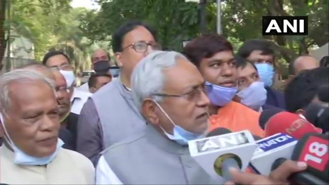 Bihar: नीतीश कुमार को बिहार की कमान, NDA विधायक दल की बैठक में सीएम के नाम पर लगी मुहर, आज शाम 04.30 बजे लेंगे शपथ