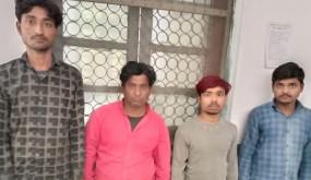 कोलगवां पुलिस ने किया वाहन चोर गिरोह का पर्दाफाश -11 लाख रू. के 17 दो पहिया वाहनों के साथ चार गिरफ्तार