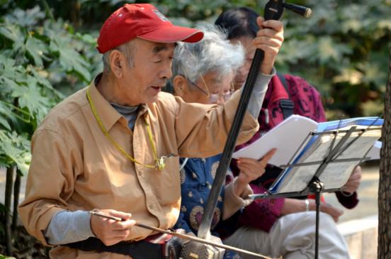 चीन में बुजुर्गों का जीवन